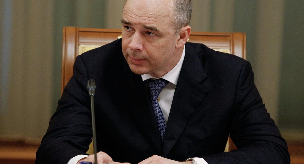 Anton Silouanov, ministre russe des Finances