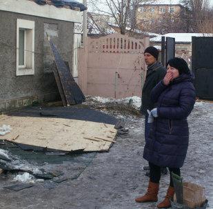 Donetsk à nouveau pilonnée