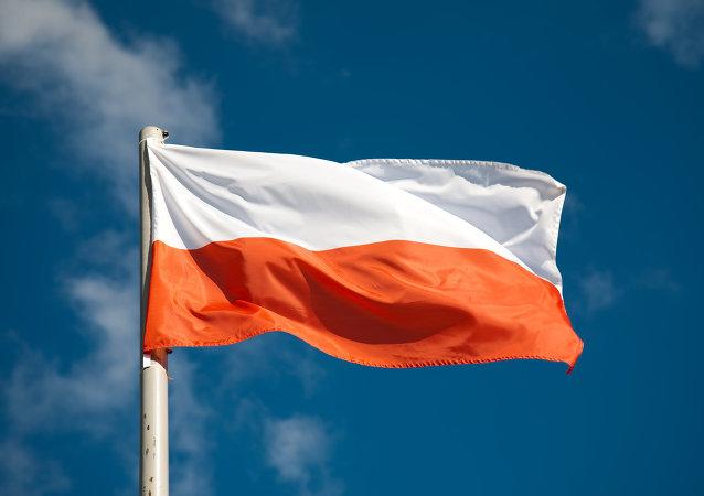 Drapeau de la Pologne