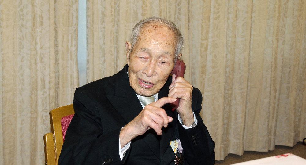 Un Japonais De 111 Ans Devient L Homme Le Plus Age Au Monde