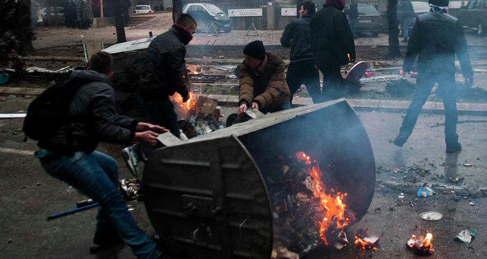 Kosovo: affrontements à Pristina