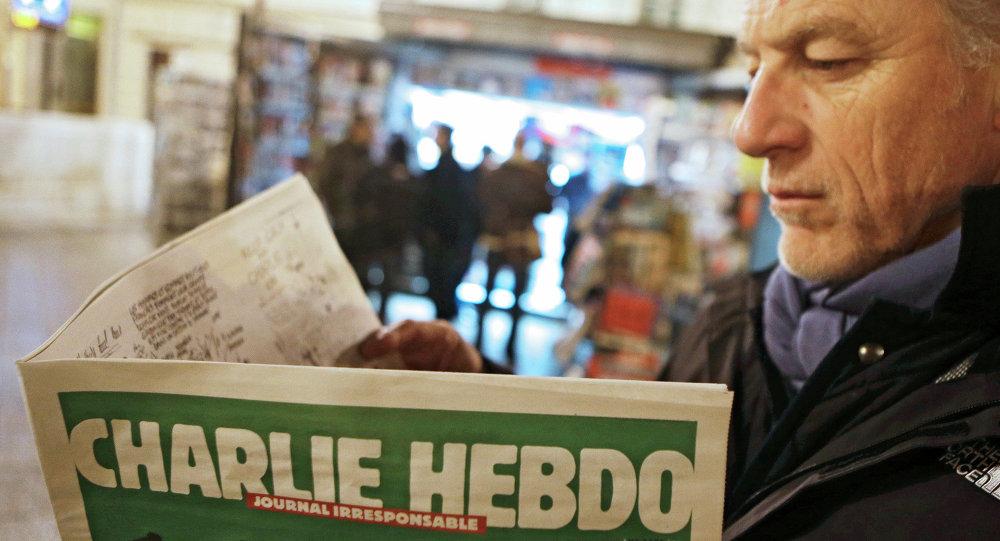 Le premier (après l'attentat ) numéro de l'hebdomadaire français satirique Charlie Hebdo