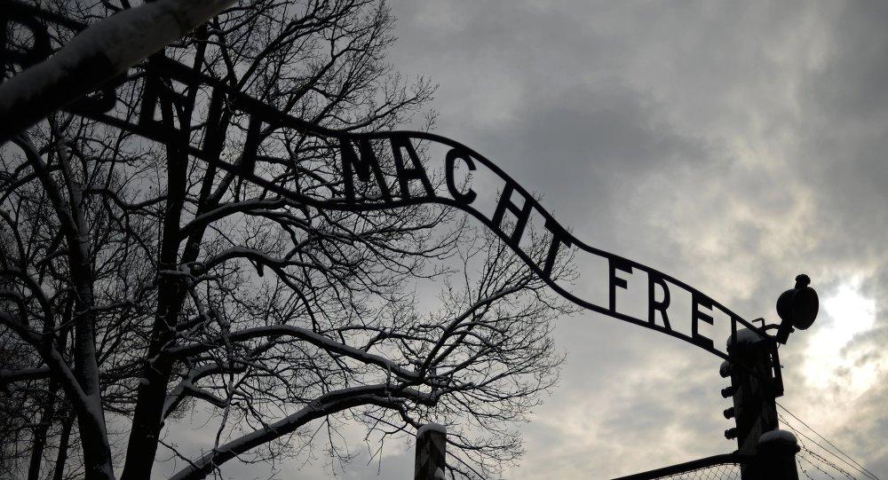 le camp de concentration d'Auschwitz
