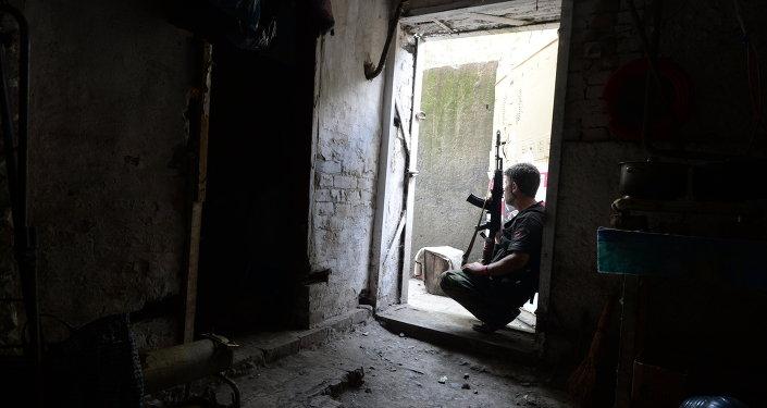 La situation à Chakhtersk (region de Donetsk)