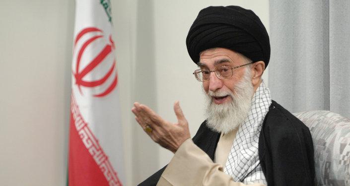 Guide suprême iranien, l'ayatollah Ali Khamenei