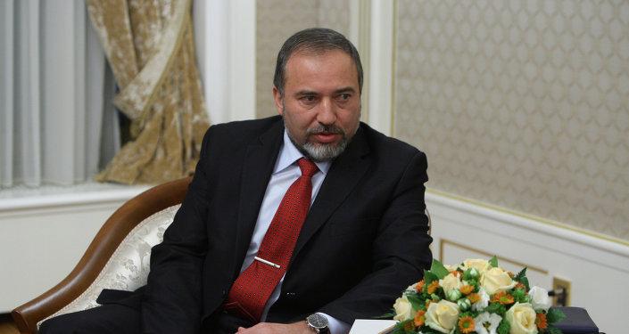 Le ministre israélien des Affaires étrangères Avigdor Lieberman