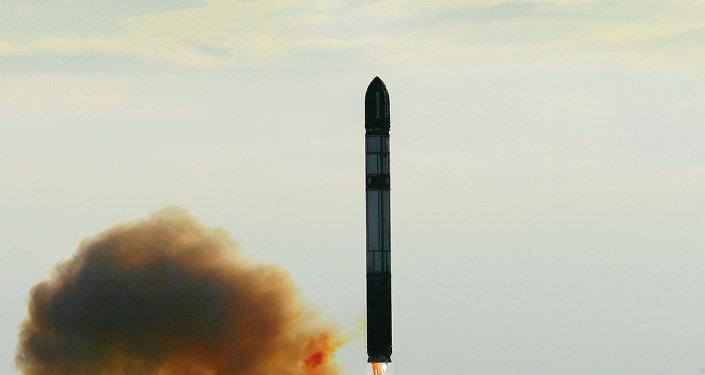 Lancement de missile «Vojvoda» (Archives)