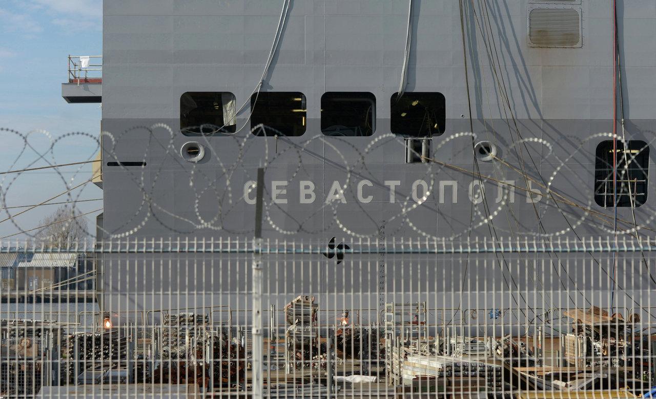 Le Sébastopol, deuxième Mistral destiné à la Russie