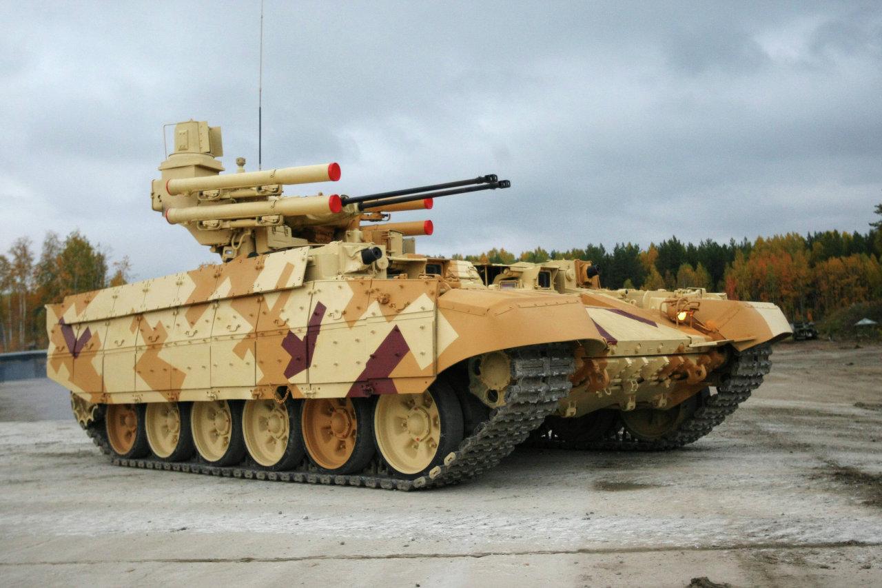 Le véhicule d'appui feu Terminator