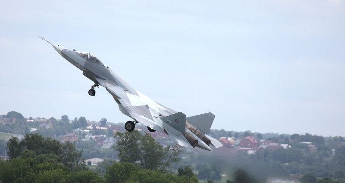 le chasseur russe de 5e génération T-50 a effectué son 16e vol dans le ciel de Joukovski