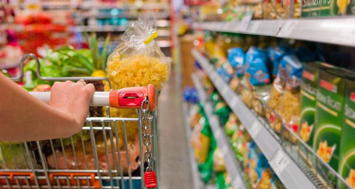 Dans un supermarché