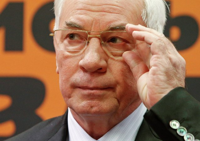 Nikolaï Azarov, ancien premier ministre ukrainien