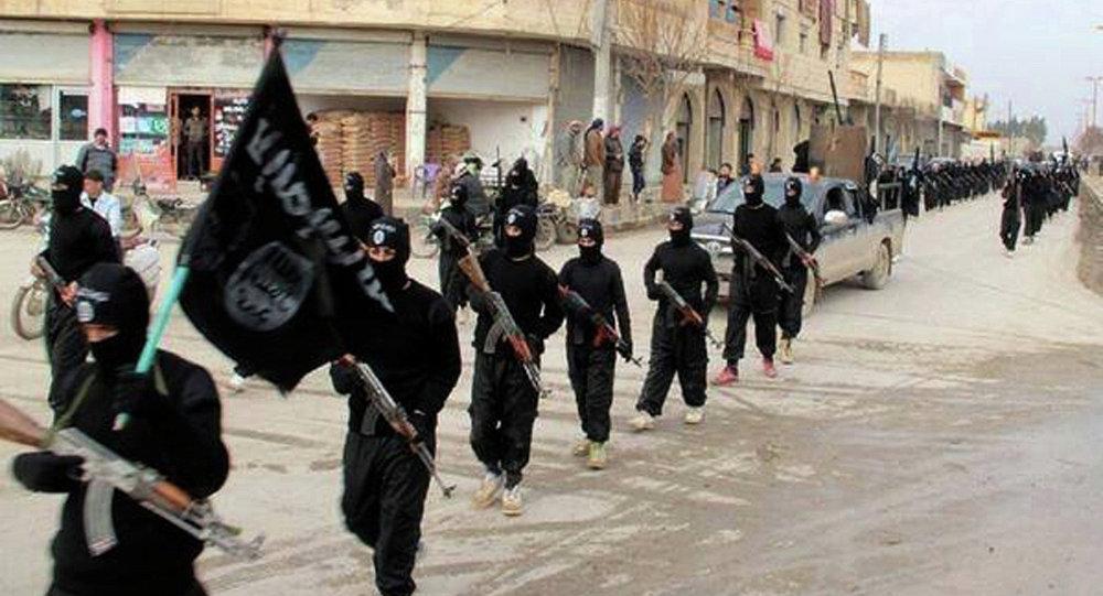 Combattants d'État islamique en Syrie (Archives)