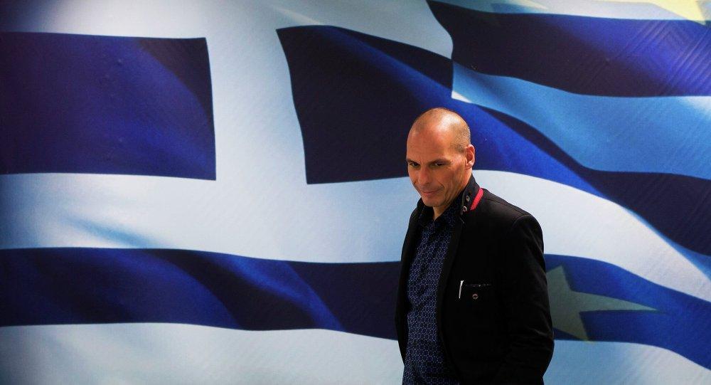 Ministre grec des Finances, Yanis Varoufakis