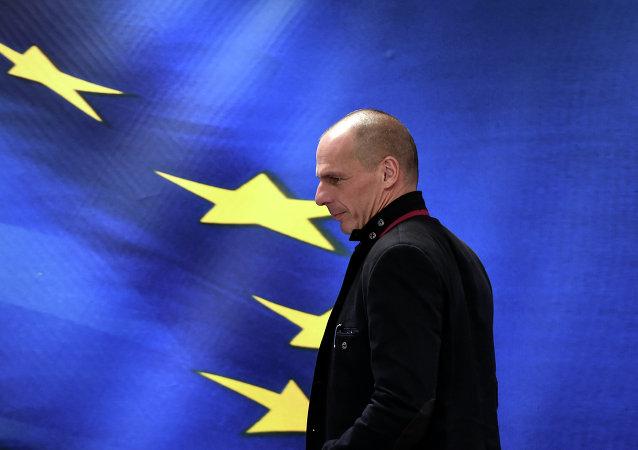 Le ministre des Finances grec Yanis Varoufakis