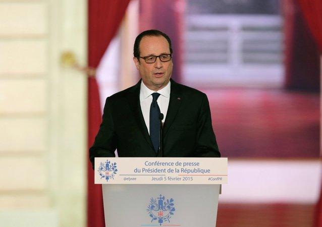 Francois Hollande, February 5, 2015