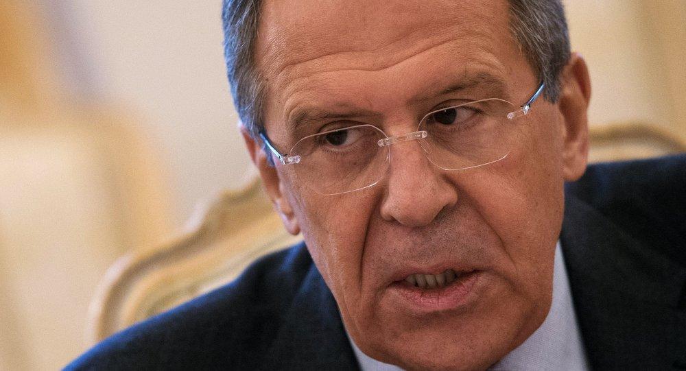 Chef de la diplomatie russe Sergueï Lavrov. Archive photo