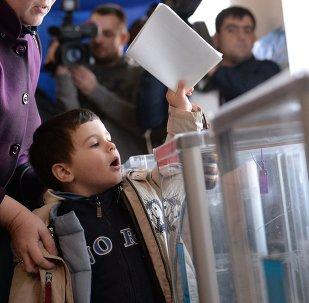 Les Ukrainiens élisent leurs députés