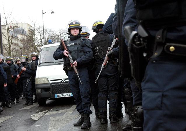 La police près de la Porte de Vincennes à Paris (Archives)