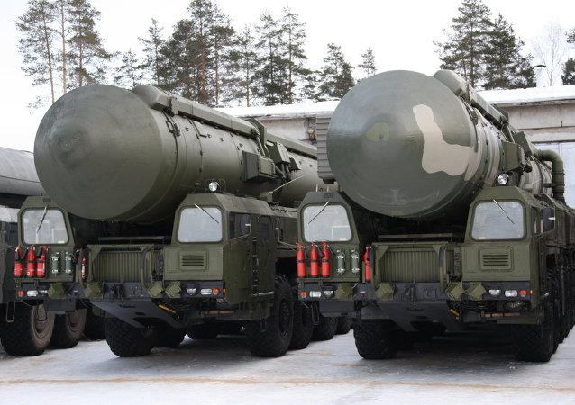 Système de missiles russe RS-24 Yars