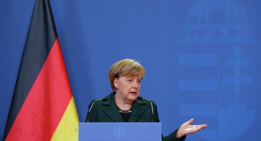 Angela Merkel, canciller alemana