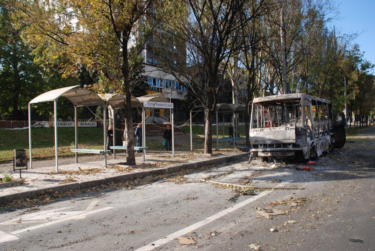 Ukraine: Donetsk pilonnée par l'artillerie ukrainienne