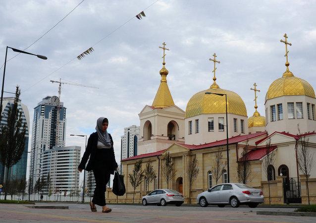 Сathédrale de l'Archange-Saint-Michel de Grozny