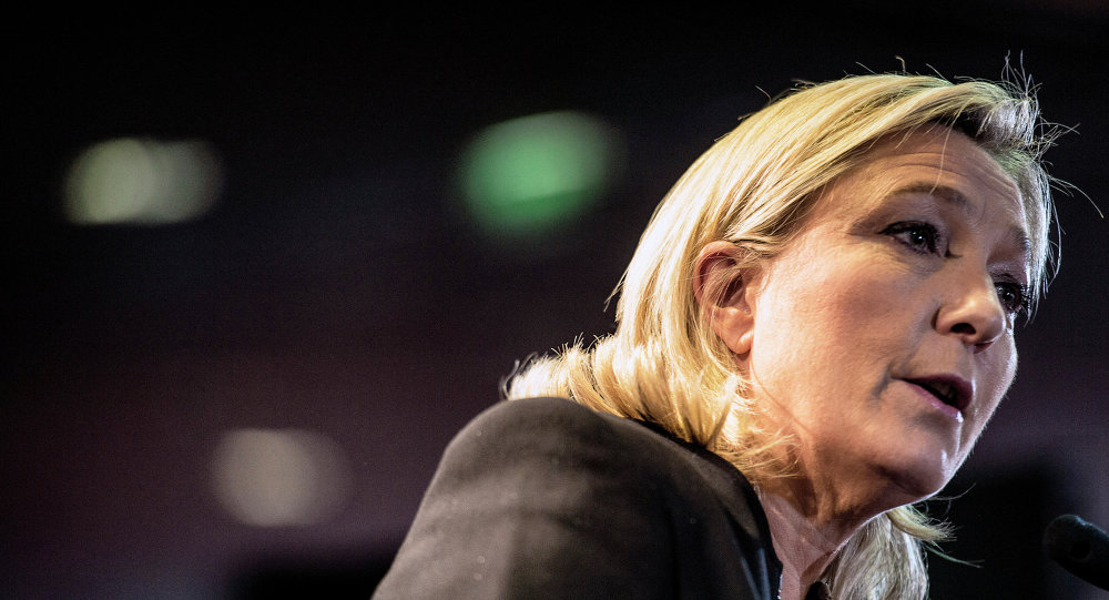 La présidente du Front national, Marine Le Pen