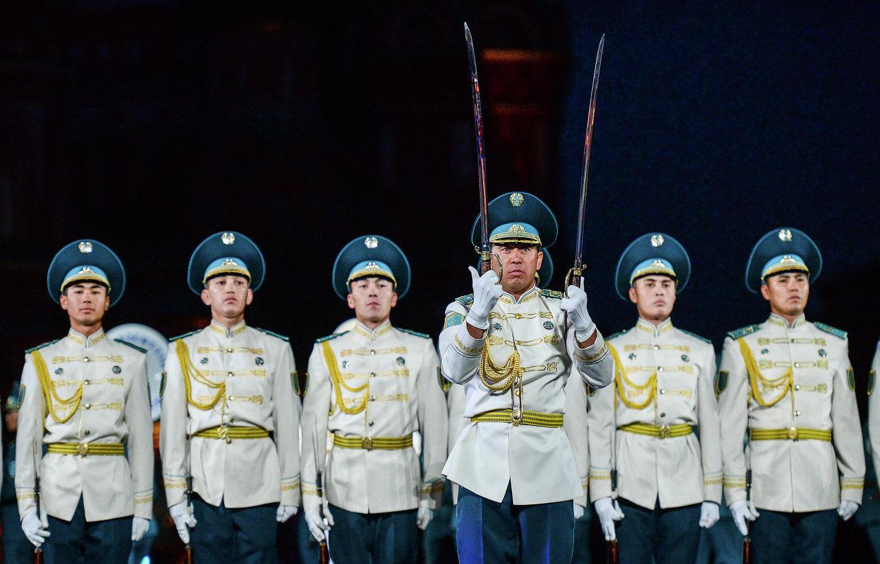Le festival Tour Spasskaïa à Moscou