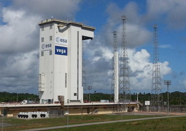 Le centre spatial de Kourou, en Guyane française