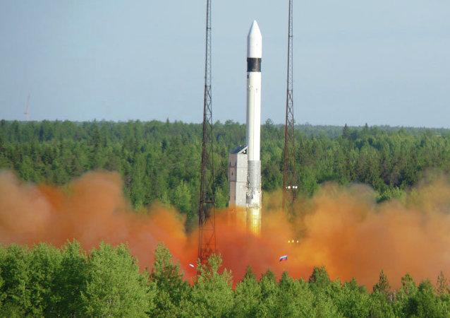Lancement d'une fusée Rockot (archives)