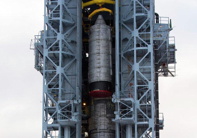 Un lanceur Rockot au cosmodrome de Plessetsk