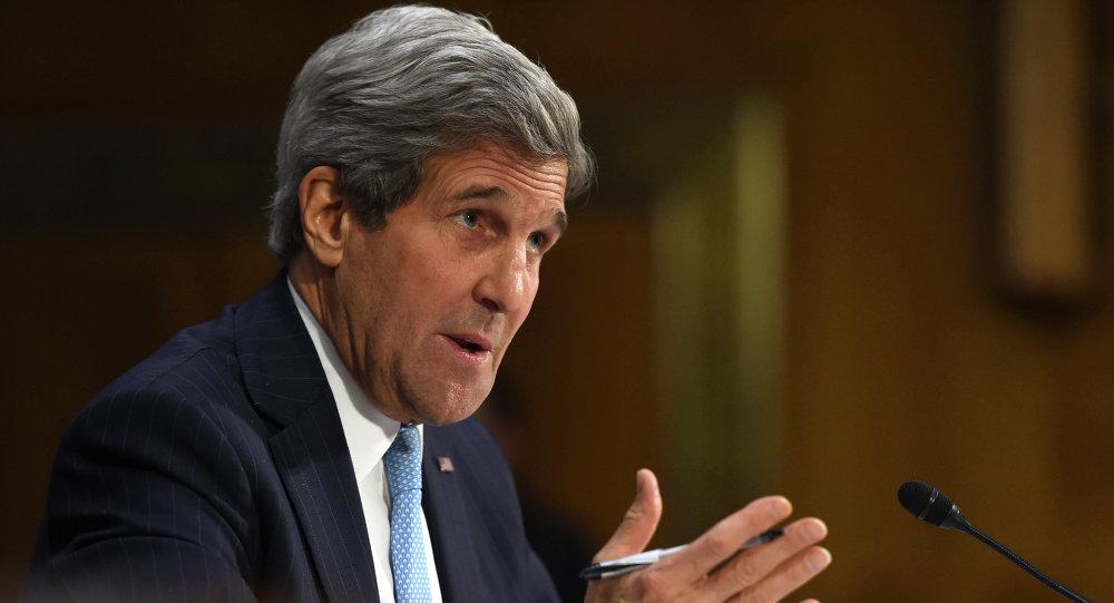 Le chef de la diplomatie américaine John Kerry