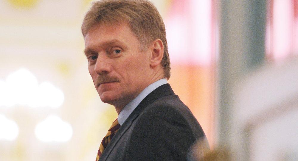 Dmitri Peskov, le porte-parole du président russe