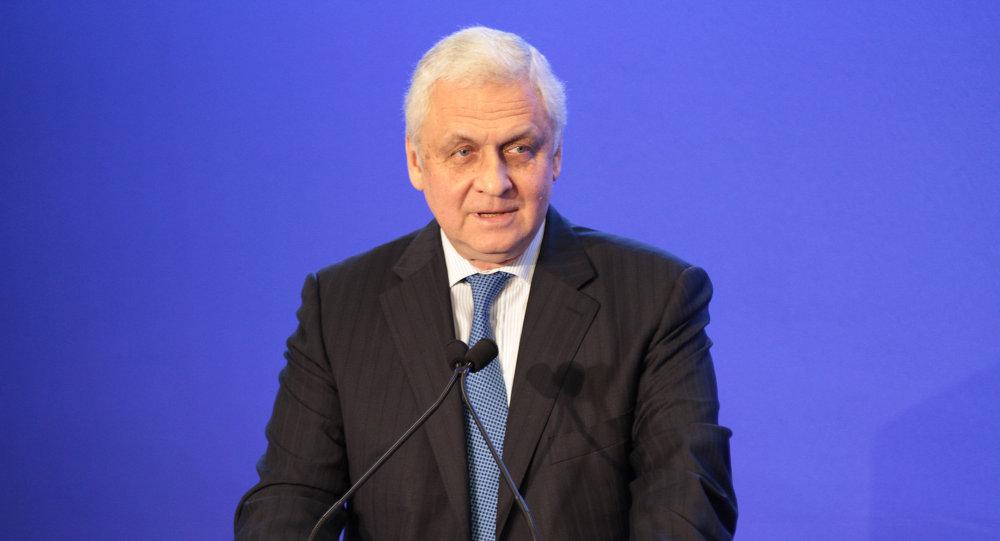 SE Alexandre Orlov, Ambassadeur de la Fédération de Russie en France. Archive photo