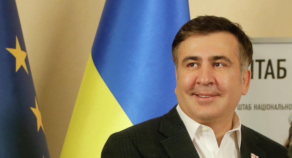 Le gouverneur de la région ukrainienne d'Odessa Mikhaïl Saakachvili