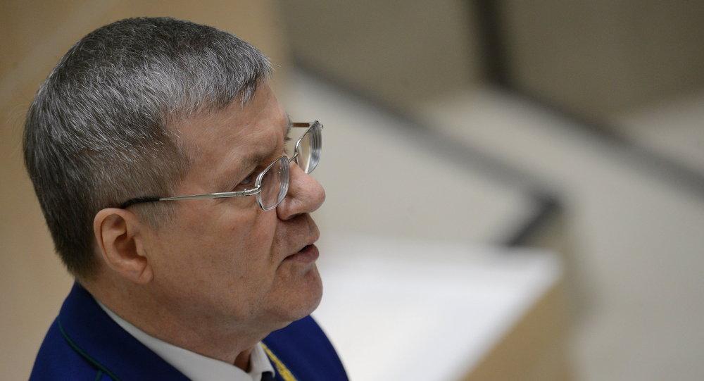 Le procureur général Iouri Tchaïka