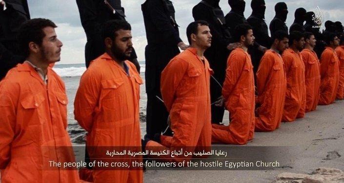 Les djihadistes de l'Etat islamique ont publié une vidéo d'exécution de 21 pêcheurs égyptiens