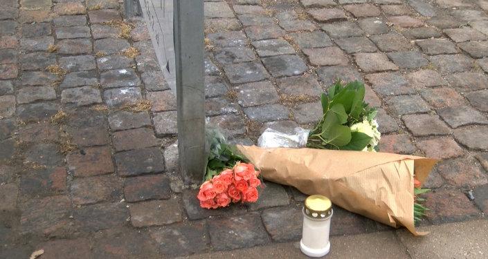 Copenhague: sur les lieux des attentats