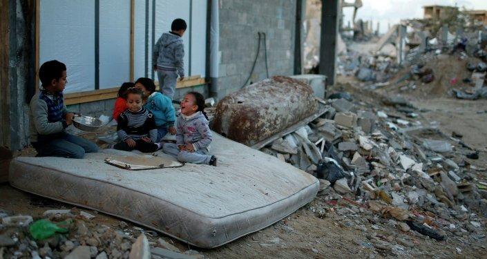 Enfants palestiniens