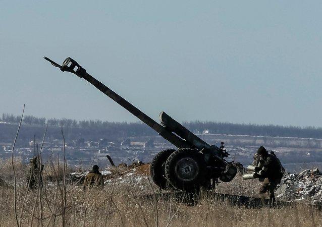 Un canon ukrainien près de Debaltsevo(Archives)