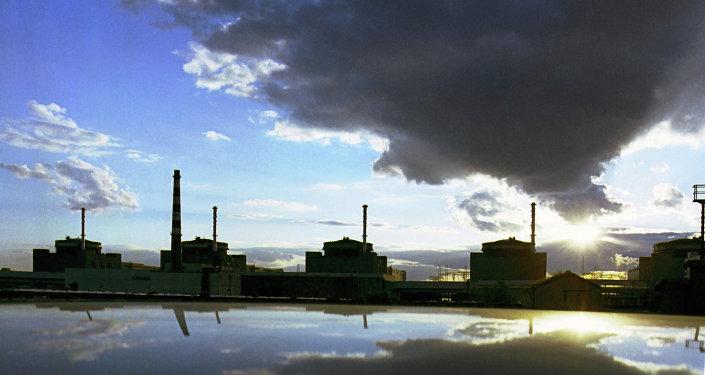 Centrale nucléaire à Zaporojie