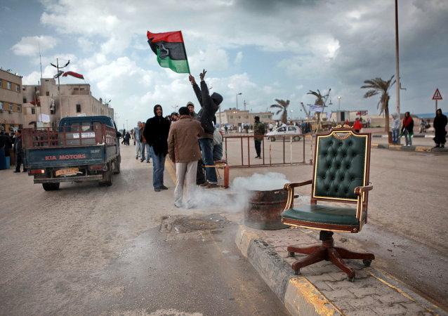Dans les rues de Benghazi