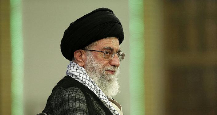Le guide suprême de l'Iran Ayatollah Ali Khamenei