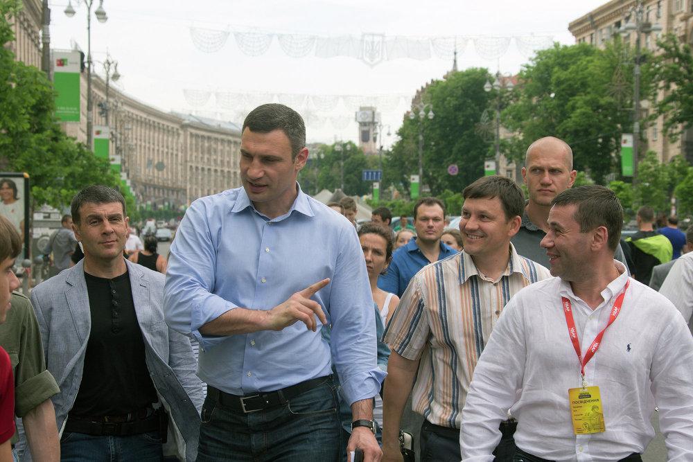 Vitali Klitchko, maire de Kiev