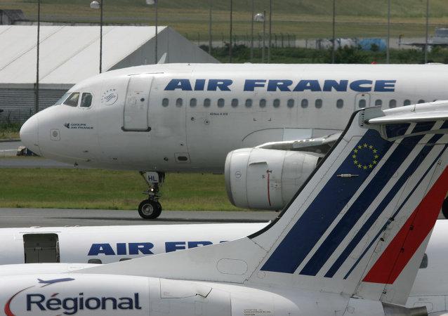 Avions de ligne d'Air France