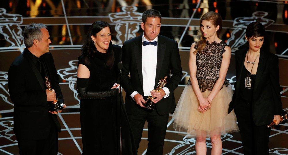 Dans la catégorie du meilleur documentaire, l'académie américaine du cinéma a primé Citizenfour, film de Laura Poitras évoquant le parcours du célèbre lanceur d'alerte Edward Snowden.
