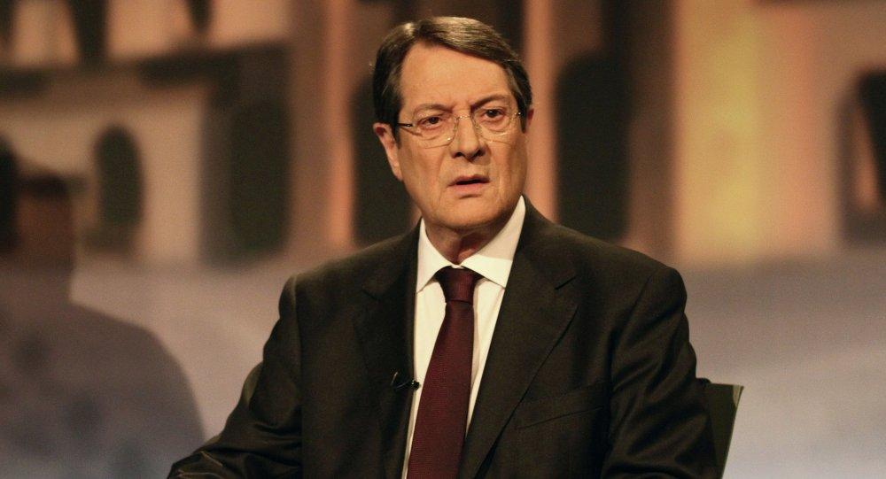 Le président chypriote Nikos Anastasiadis