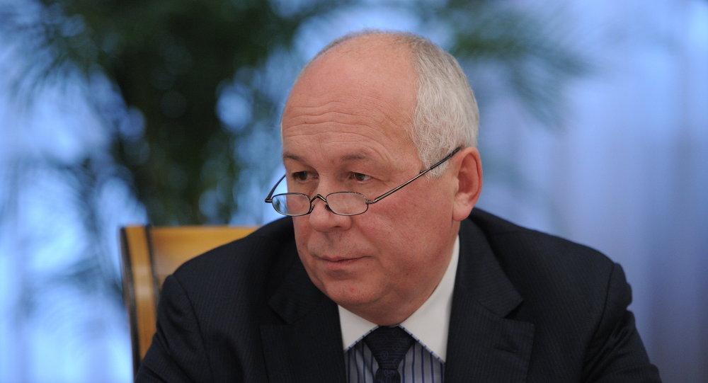 Le PDG du groupe Rostech, Sergueï Tchemezov