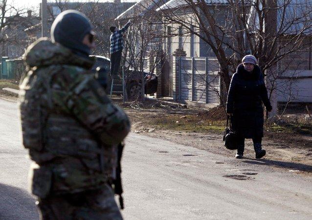 Velyka Novosilka, Région de Donetsk, February 24, 2015